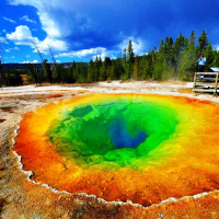 西雅图出发黄石公园7日游:SE7-9143