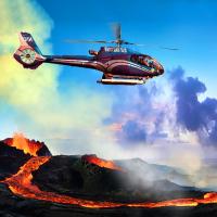 夏威夷大岛出发空中观光1日游:HO-T-1013